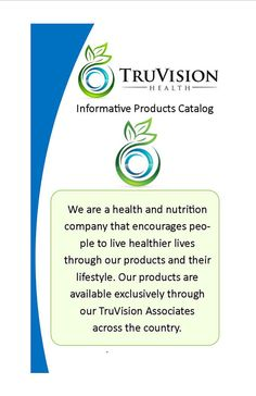 TruVision Health Informative Products Catalog by CreationsByLeigh, $15.00
