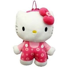 Hello Kitty Plush Backpack Doll Stuffed Toy by Classy Joint * Check out the image by visiting the link. (This is an affiliate link) Best Kids Backpacks, Hello Kitty Plush, Stuffed Toy, Classy, Dolls, Children, Vacation Ideas, Check, Image Link