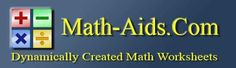 Math Worksheets | Dynamically Created Math Worksheets ... Free!
