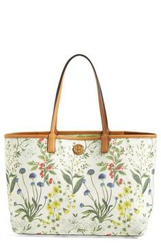 Botanical shopper bag for all those weekend trips!