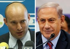 Netanyahu and Bennett Photo By: REUTERS,MARC ISRAEL SELLEM/THE JERUSALEM POST