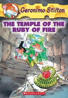 The Temple of the Ruby of Fire (Geronimo Stilton, No. 14)/Geronimo Stilton