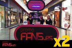¡Nuestras azafatas os están esperando en el stand de PromoFans! Traed vuestros tickets de compra con los cupones y os regalaremos el descuento ¡Así de fácil!  Hay miles de euros cada día ¡Os esperamos!