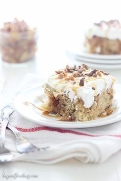 Double Pumpkin Poke Cake - Beyond Frosting
