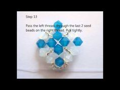 How to make Blue Opal Square Ring - YouTube