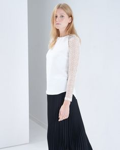 Faust White Blouse
