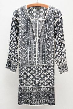 Étoile Isabel Marant Black Bloom Dress $480 - Available now at Heist