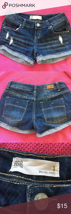 Ripped shorts Good condition Shorts Jean Shorts