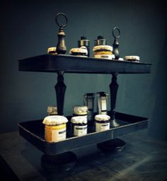New trays in our new Larder at Abigail Ahern
