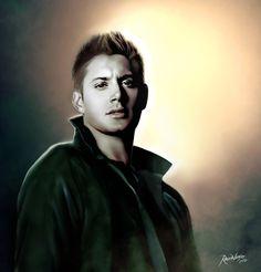 Dean Winchester by RavenVanger.deviantart.com on @deviantART