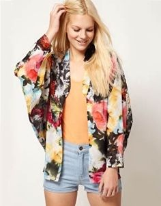 Posy Kimono Jacket   Style   Pinterest   Kimono jacket, Kimonos ...