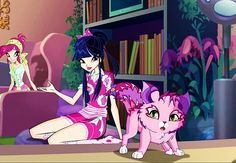 Winx Club Season 7 Musa Pajama Outfit