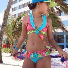 Vestido de Baño para Niñas... @lolabyclaudiap