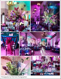 Pink Posh Houston Photography Bell Tower on 34th, Houston, Texas,Peacock themed Hindu wedding, wedding details