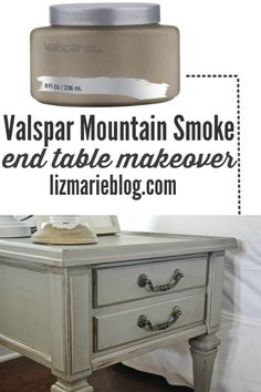 VALSPAR MOUNTAIN SMOKE END TABLES