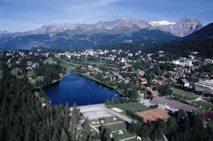 Crans Montana, Switzerland Went here this summer. Favorite place, easily.