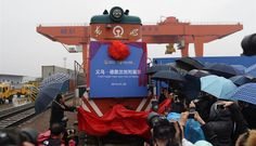 First container train links China to Middle East