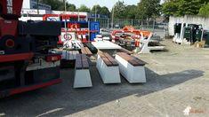 Betonbank DeLuxe bij Gemeentewerf in Sint-Michielsgestel