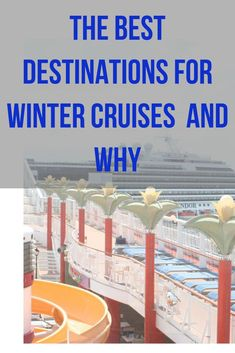 Aside from the chance to escape to tropical destinations on a floating vacation, there are plenty of other enticements to cruise in the winter. Gt the best destinations for winter cruises and why Honeymoon Destinations All Inclusive, Vacations To Go, Amazing Destinations, Travel Destinations, Cruise Ship Models, Best Vacation Spots, Vacation Ideas, Cruise Travel, Adventure Travel
