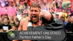 """A """"Perfect"""" Father's Day present from Curtis Axel."""
