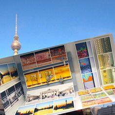 #DIY in #Berlin - David liebt Berlin! Deshalb hat er so viele tolle Motive auf Magnet-Schlüsselboards und Magneten!