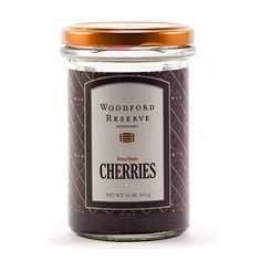 Bourbon Cocktail Cherries. Yum!