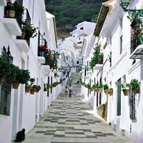 mijas spain Beautiful white village I've visited here