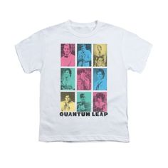 Quantum Leap - Faces Of Sam Youth T-Shirt
