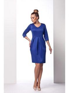 Ženska Haljina Rukava 3/4 Dužine LEMONIADE #dress #long_sleeve #blues #tucks #women_fashion