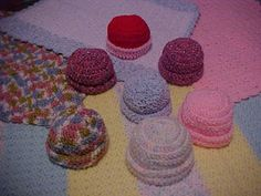 "My ""JMSQ"" Qunique Patterns - Created By: Jeanarie: 1,2,3 Baby Hats & Blankies"