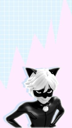 My lady~ Chat noir wallpaper