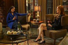Scandal Fashion Recap: Olivia's in Fifty Shades of Blue Fifty Shades, Shades Of Blue, Darby Stanchfield, Scandal Fashion, Trump Card, Olivia Pope, Fake Smile, Tv Shows, Thankful