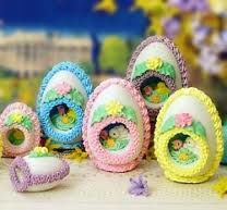 Sugar Easter Eggs- Desperately wanted one when I was growing up. Maybe I'll just buy myself one now! SB~