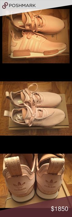 Hender Scheme x Adidas Originals NMD_R1 HS BRAND NEW with ORIGINAL BOX. A collaborative project between Adidas Originals and Tokyo-based cult brand HENDER SCHEME. NMD_R1 Size: US 9 UK 8.5 Color: Natura Creme Made in JAPAN Sold from a smoke-free and pet-free household. Hender Scheme x Adidas Originals Shoes Sneakers