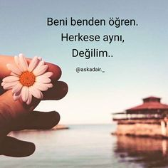Kendisini vazgeçilmez sanan herkesten vazgeçtim. ~ Güzel Sözler,Resimli Sözler,Aşk Sözleri,Anlamlı Sözler Insta Bio Quotes, Quotations, Qoutes, Best Quotes, Love Quotes, Good Sentences, Most Beautiful Words, Famous Words, Instagram Bio
