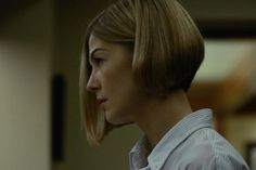 "The Bob. Rosamund Pike ""Gone Girl"" screen capture."