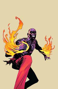 El Diablo in Suicide Squad Most Wanted
