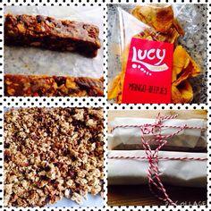 Gezonde #granola repen gemaakt. Met o.a. mangoreepjes, dadels, amandelen, honing, granola.  #essentieleolie grapefruit, wild orange en tangerine. Info@gezondeolie.nl