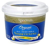 Spectrum Organic Palm Shortening Non-Hydrogenated = HEALTHY ZERO grams of Trans Fat  Cook at high temperatures the healthy way!