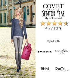 Senior Year @covetfashion #covet #covetfashion #covetfashionapp #fashion #covetfall2015 #fall2015 #womensfashion #senioryear #RAOUL #SJOBECK #DL1961 #ChristianCathor&Co #JulieVos