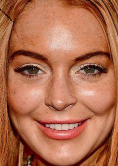 Spunk face close up