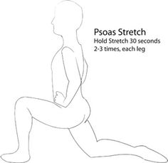 Lower Back --- 'Every-Morning' Pain and Deep Muscle (Psoas, etc.) Stretches