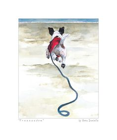 Wire Hair Jack Russell Art Print - Freedom - The Little Dog Laughed Chien Jack Russel, Jack Russell Dogs, Jack Russell Terrier, Toy Fox Terriers, Terrier Dogs, Freedom Art, Crazy Dog, Dog Paintings, Little Dogs
