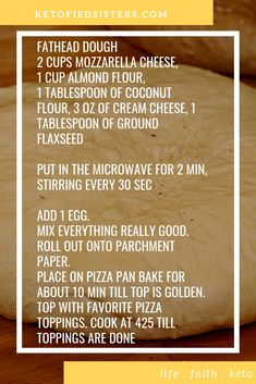 This is our version of the fathead dough. We love that it can be used for everything. Cinnamon rolls, taco shells, noodles, and pizza. The possibilities are endless. #keto #ketodiet #ketosis #lowcarb