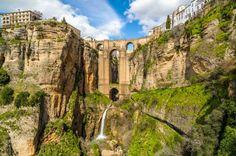 The Puente Nuevo New Bridge over Guadalevin River in Ronda