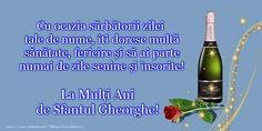 Felicitari de Sfantul Gheorghe - La multi ani de Sfantul Gheorghe! - mesajeurarifelicitari.com