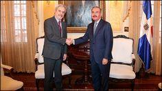 La OEI resalta esfuerzos en educación; Secretario General visita a Danilo Medina