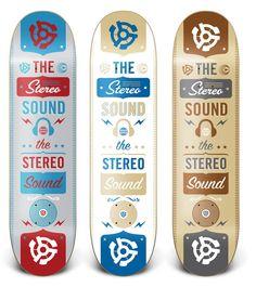 DangerBrain X Stereo Skateboards by Danger Brain