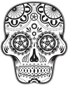 Cycling sugar-ish skull More Más Dirt Bike Tattoo, Bicycle Tattoo, Bike Tattoos, Sleeve Tattoos, Cool Tattoos, Tatouage Dirt Bike, Caveira Mexicana Tattoo, Cycling Tattoo, Sugar Skull Tattoos