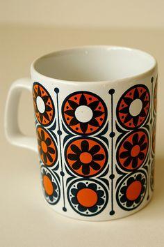 Staffordshire potteries mug